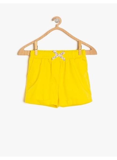 Koton Kids Şort Sarı